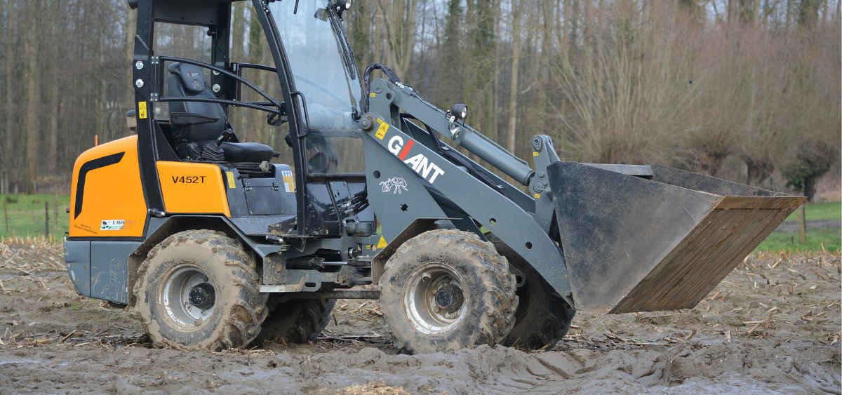 Skid Steer Loader in field